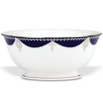 $235.00 Marchesa Dmpire Indigo Serving Bowl